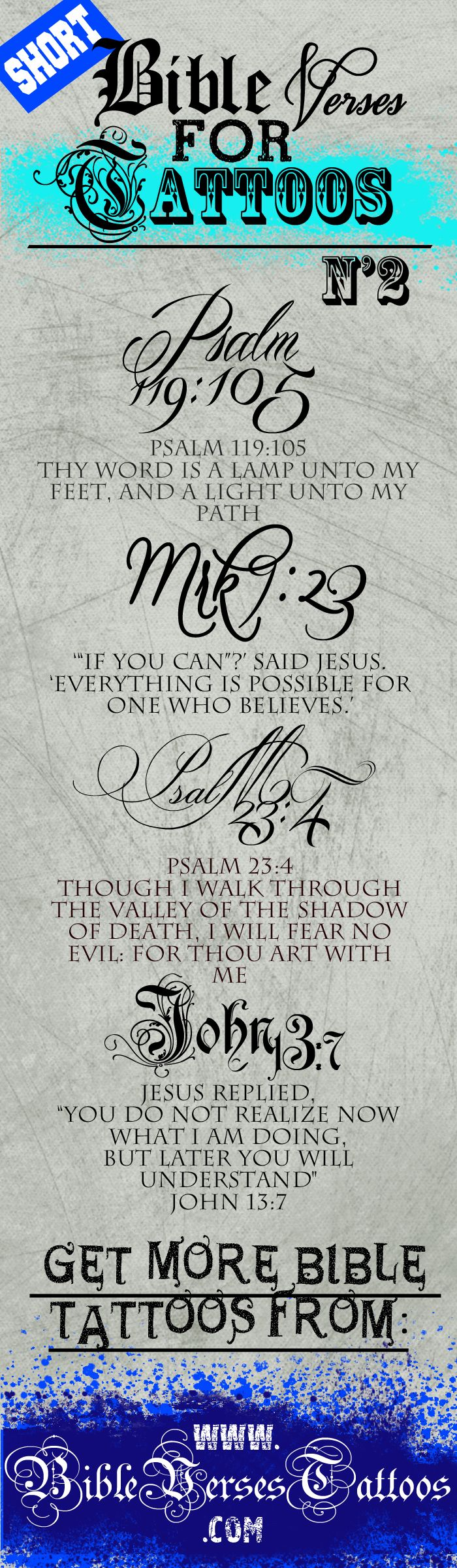 CLICK HERE to SEE TOP *SHORT* BIBLE VERSES TATTOOS