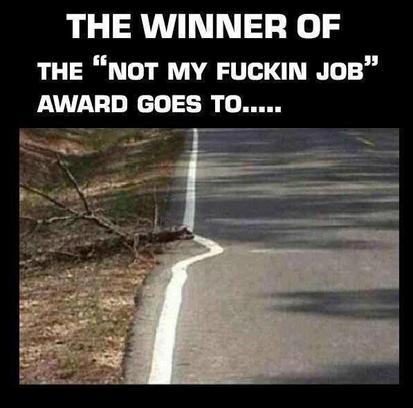 Pas mon putain de travail !