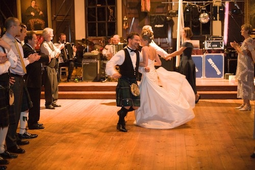 Lots of fun in the Ballroom at Blair Castle.