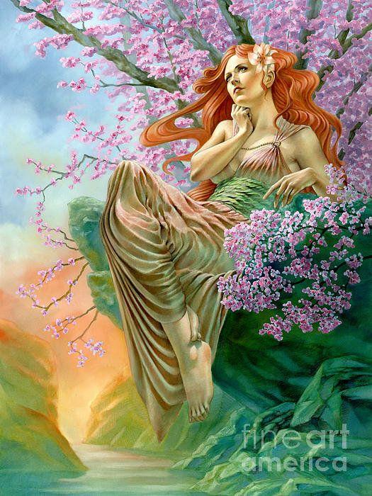 Картинки анимация богини