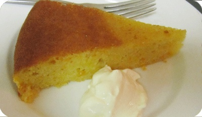 Mandarin and Almond Cake with Cinnamon Syrup - Mandarin stars in this rich and delicious dessert cake.  The syrup really makes this cake, turning it from cake to dessert.  It tastes best when served with cream as a contrast to sweet and  spicy flavours. http://sautepanrecipes.com/mandarin-and-almond-cake-with-cinnamon-syrup/