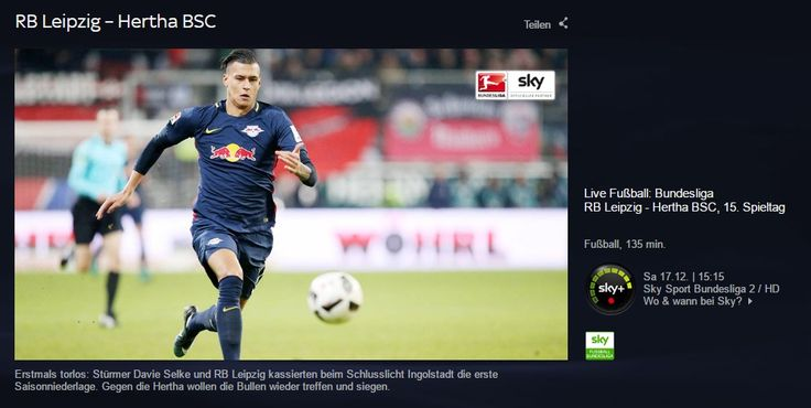 News-Tipp: RB Leipzig vs Hertha BSC im Livestream: Bundesliga hier online schauen - http://ift.tt/2hGEX3V #story