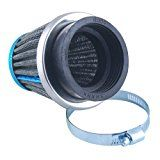 Universal Fit Custom Motorcycle Cruiser Pod Power Performance Air Filter Intake Induction Kit With 50mm Inlet Rubber Connector Reviews