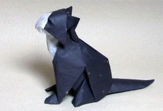 Download some Origami Diagrams Here - Cat is my favorite (already downloaded)