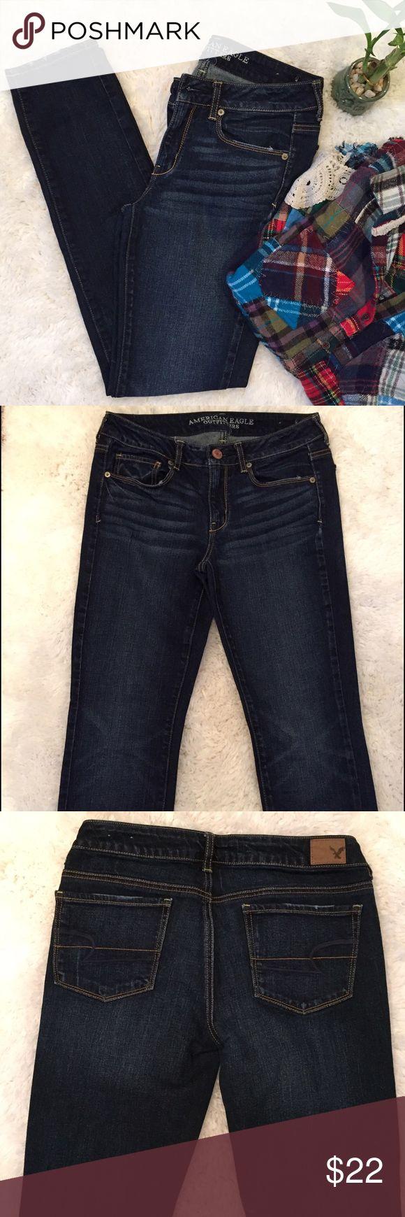 American Eagle Skinny Jeans American Eagle Skinny Jeans   Like New   Size 6 American Eagle Outfitters Jeans Skinny