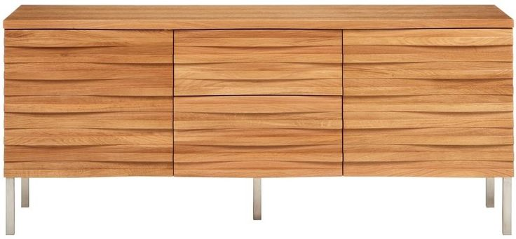 Wave Oak Sideboard