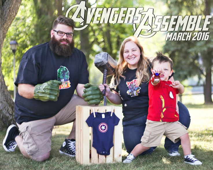 Avengers Assemble 2nd Baby Pregnancy Announcement
