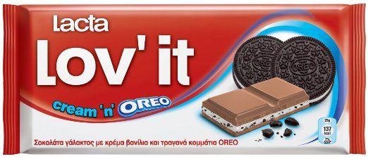 Lacta Lov'it Cream'n'OREO - Greek Chocolate