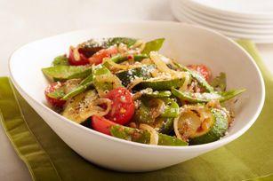 Zucchini Vegetable Toss