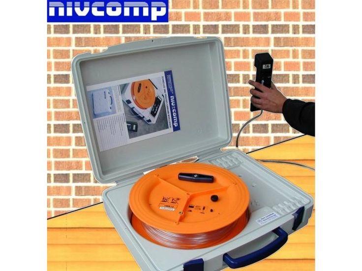 Niwelator - elektroniczna poziomica wężowa NIVCOMP