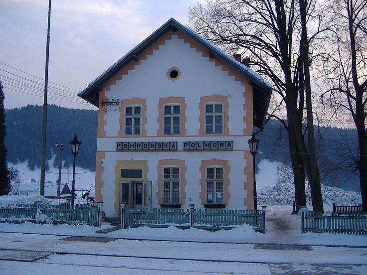 Pohronska Polhora, zeleznicna stanica