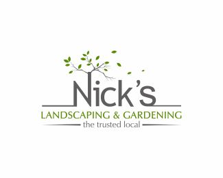 Marvelous Nicku0027s Landscaping U0026 Gardening Logo