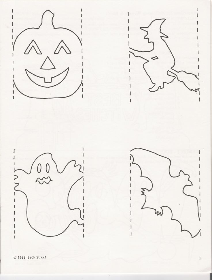 httpwwwpapercuttersinfosagalleriesback halloween templateshalloween - Halloween Decoration Templates