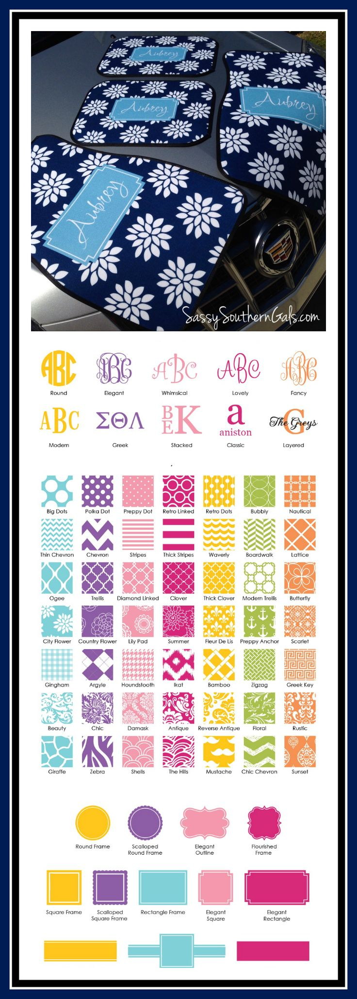 Car Mats, Personalized/Monogram Car on Etsy, $75.00 Monogrammed Gift | Sweet Sixteen Gift | Birthday Gift | 21st Birthday Gift | Car Accessories | Design Your Own | Personalized Gift |  Travel Accessories | Custom Car Mats| Design Your Own