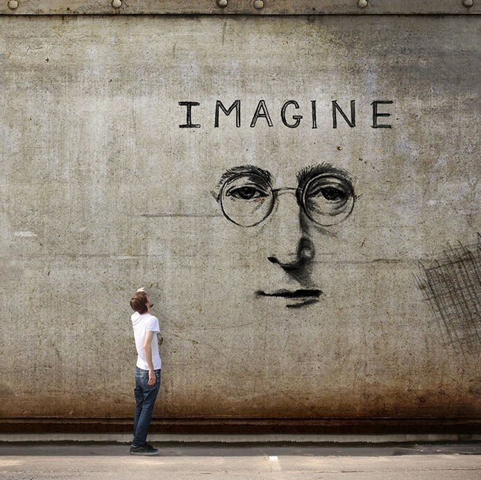 Imagine - by Vincent Bourilhon (1992?), French