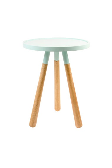 Mint Orbit Side Table / Urban Outfitters