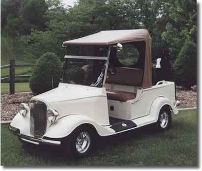 Custom Golf cart custom golf cart for sale custom club.. Reminds you of the Mid 1930's streetrodproductions.com