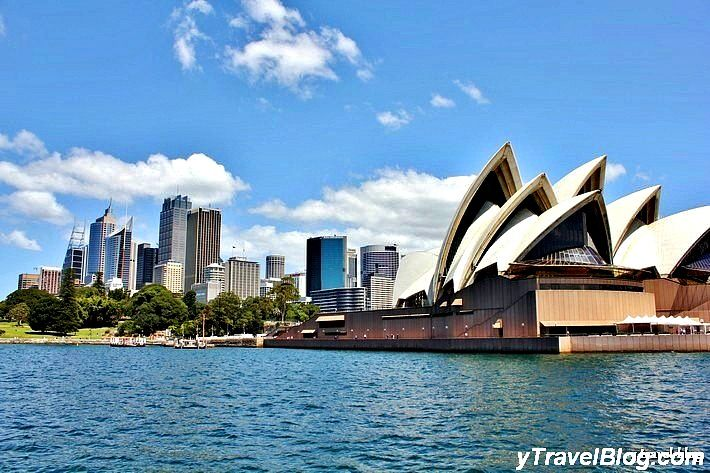 Sydney Opera House as seen from the ferry - More Sydney tips on our blog!
