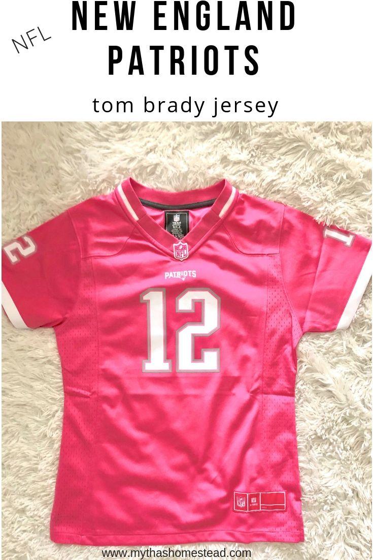 best website 02268 291a5 New England Patriots NFL Tom Brady Jersey. Womens pink Tom ...