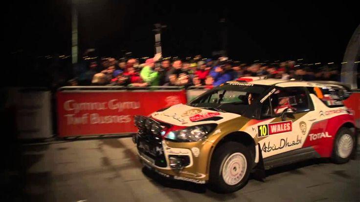 Evening kick-off in Wales Rally GB - Citroën WRC 2013