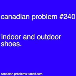 True! Canada Day decor