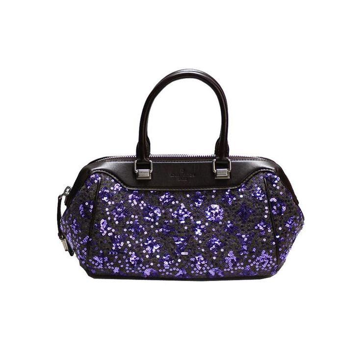 #louisvuitton M40793 Monogram / Sunshine Express Baby Women's Handbag Violet