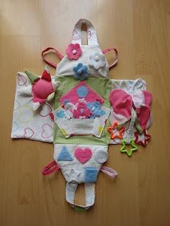 Funny baby bag