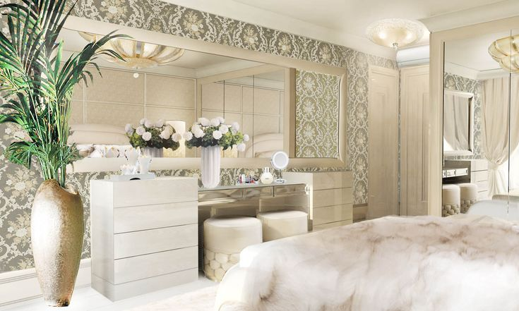 Lidia Bersani Luxury Interior Modern Bedroom Commode