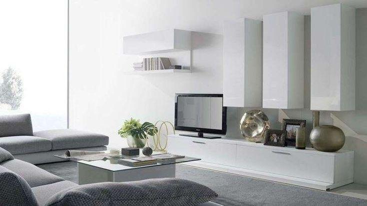 Come arredare il soggiorno con il grigio Arredamento