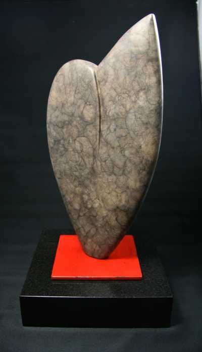 Cast bronze Figurative Abstract Sculptures #sculpture by #sculptor Jack Biesek titled: 'Party Heart' £3750 #art