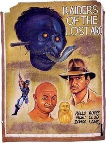 """The Art Of: """"Bootleg Movie Posters From Ghana"""" - TRIPLEZED.COM"""