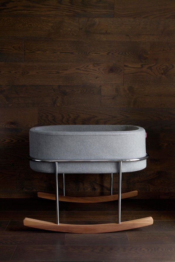The Rockwell Bassinet is a Stylish and Modern Crib for Newborn Babies #baby trendhunter.com