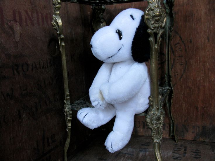 Cuddly Snoopy, Velcro Snoopy, Snoopy Toy, Vintage Snoopy, Plush Snoopy, Snoopy Plushie, Vintage Peanuts, Snoopy Cuddly Toy, Soft Toy by MissieMooVintageRoom on Etsy