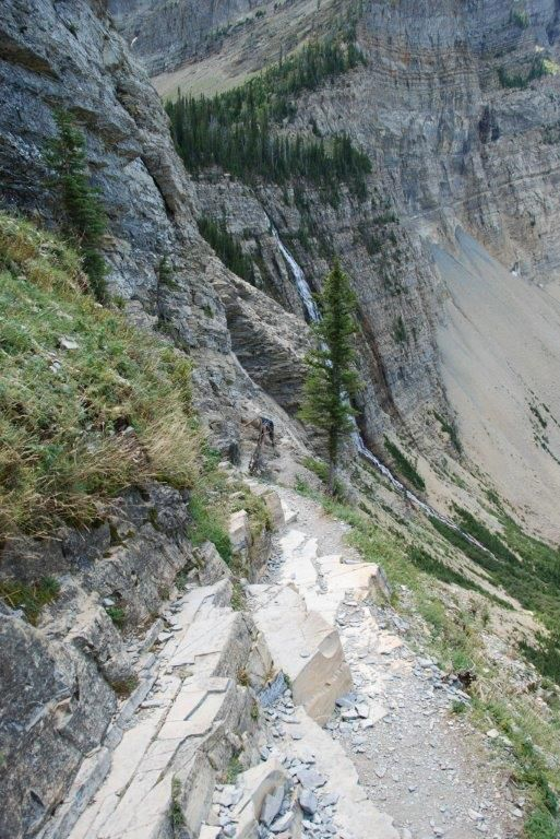 Crypt lake trail. Waterton Lakes NP