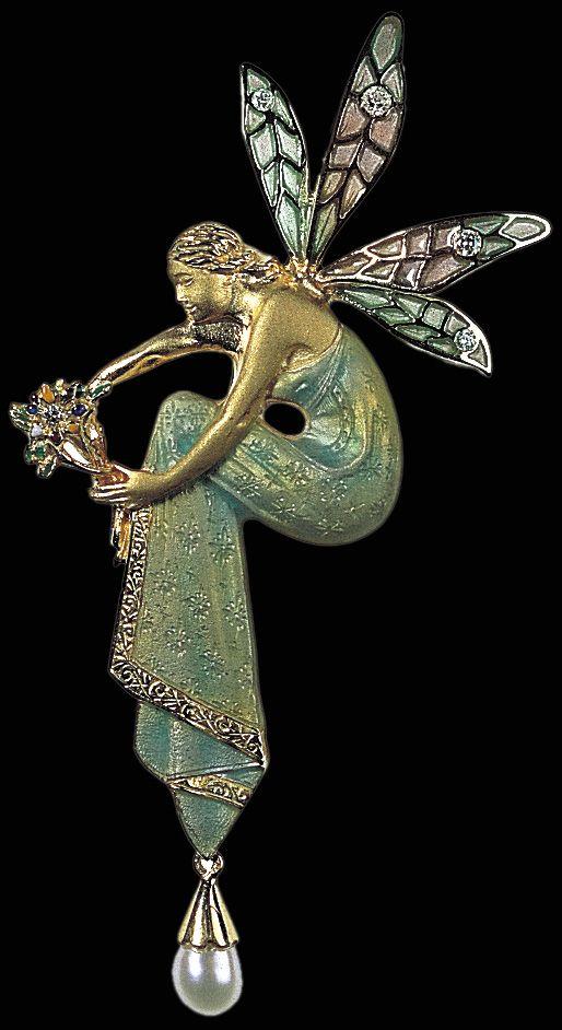 Brooch ~ Art Nouveau: