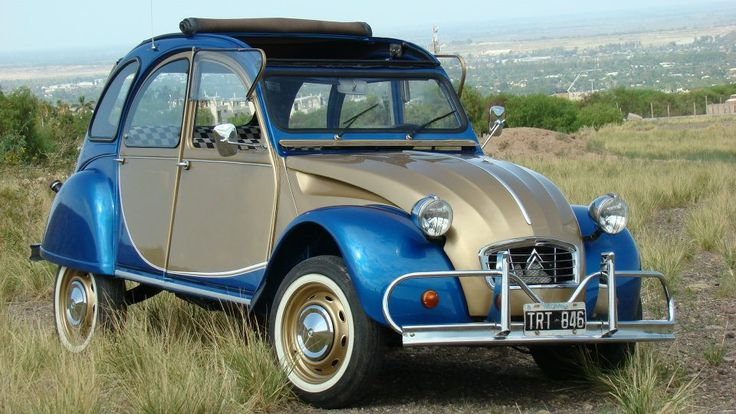 Citroen 2CV, french economy and #vintage car