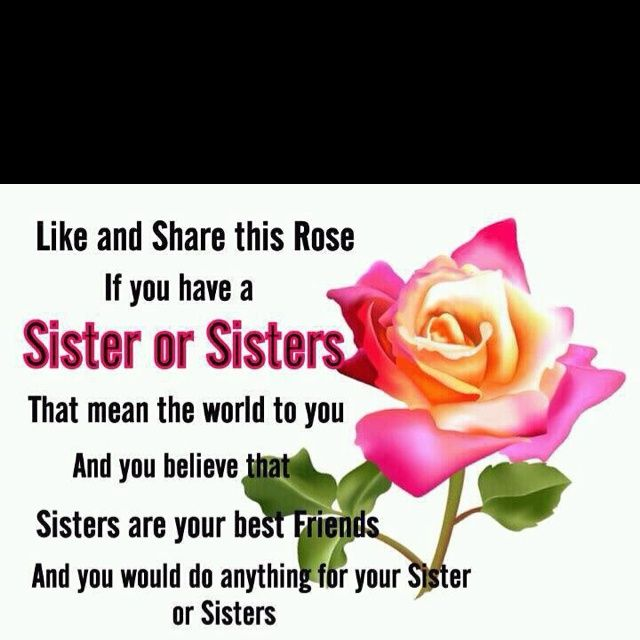 my best friends are my sisters qoutes | love my sister, she is also my best friend!