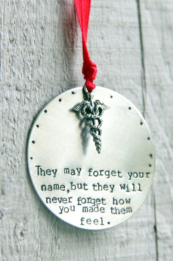 Nurse Ornament / Baby Nurse / Gift for Nurse by whiteliliedesigns, $22.00