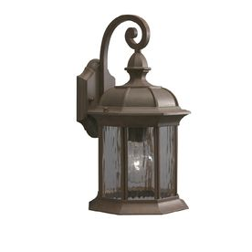 Allen + Roth Bellwood H Olde Brick Outdoor Wall Light At Loweu0027s. Boost The  Lighting And Safety Around Your Homeu0027s Exterior With This Allen + Roth  Outdoor ...