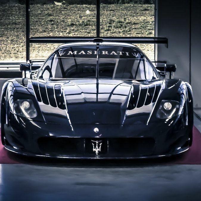 #Maserati MC12