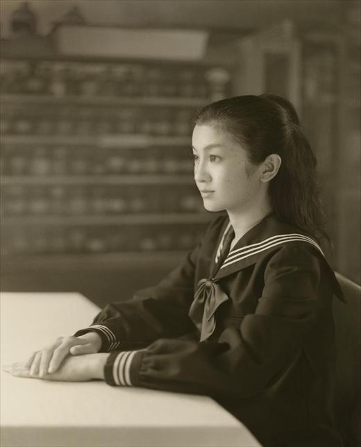 Colette in Profile  © Hisaji Hara, Courtesy of Michael Hoppen Gallery
