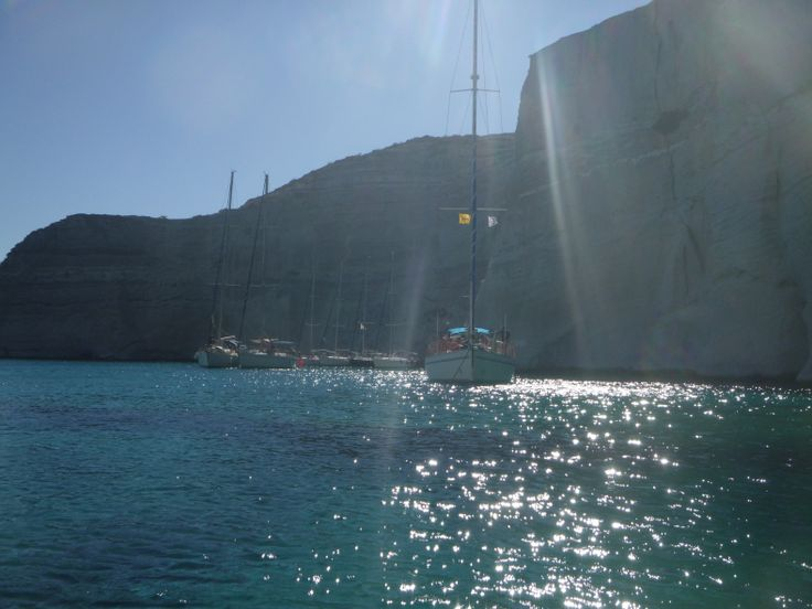 Being there...pure happiness! #travel #greece #milos #island