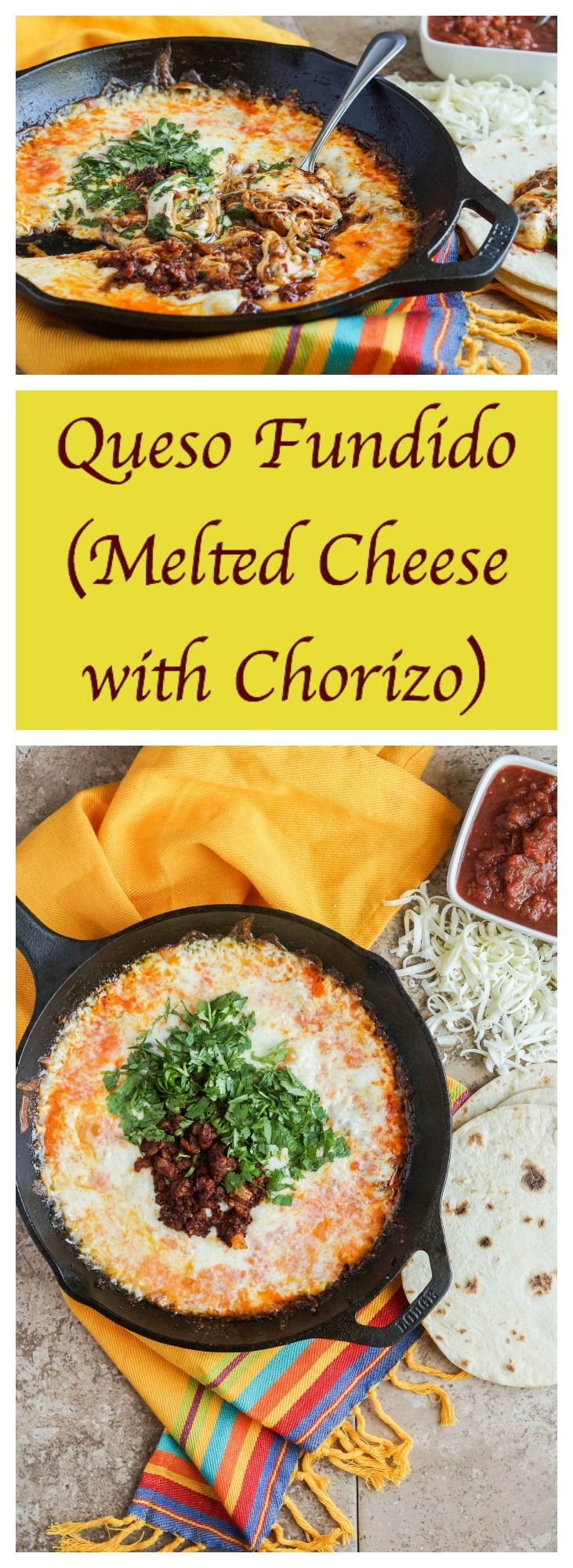#SundaySupper is kicking the week off with a celebration of easy recipes for Cinco de Mayo! Shelby of Grumpy's Honeybunch is hosting this week and I am sharing a recipe for Queso Fundido, Mel…