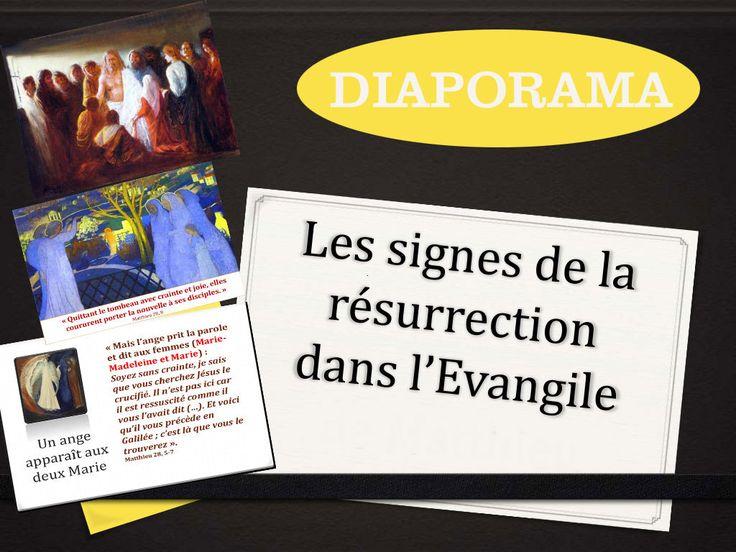 Diaporama : Les apparitions de Jésus dans les 4 évangiles