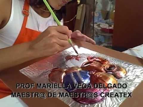 ▶ MANUALIDADES REPUJADO CON VITRACOLOR.mpg - YouTube