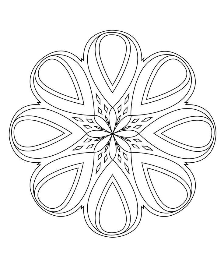 the 25 best easy mandala ideas on pinterest easy mandala drawing mandala art lesson and mandals. Black Bedroom Furniture Sets. Home Design Ideas