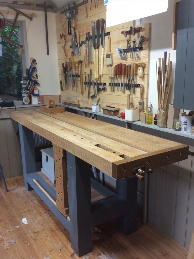 Oltre 1000 idee su banco di lavoro per garage su pinterest for Idee aggiuntive di garage allegato