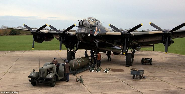The Lancaster Bombers helped defeat the Hitler war machine during the Second World War