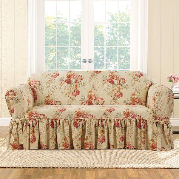 Ballad Box Cushion Sofa Slipcover Slipcovers For Chairs Cushions On Sofa Shabby Chic Furniture