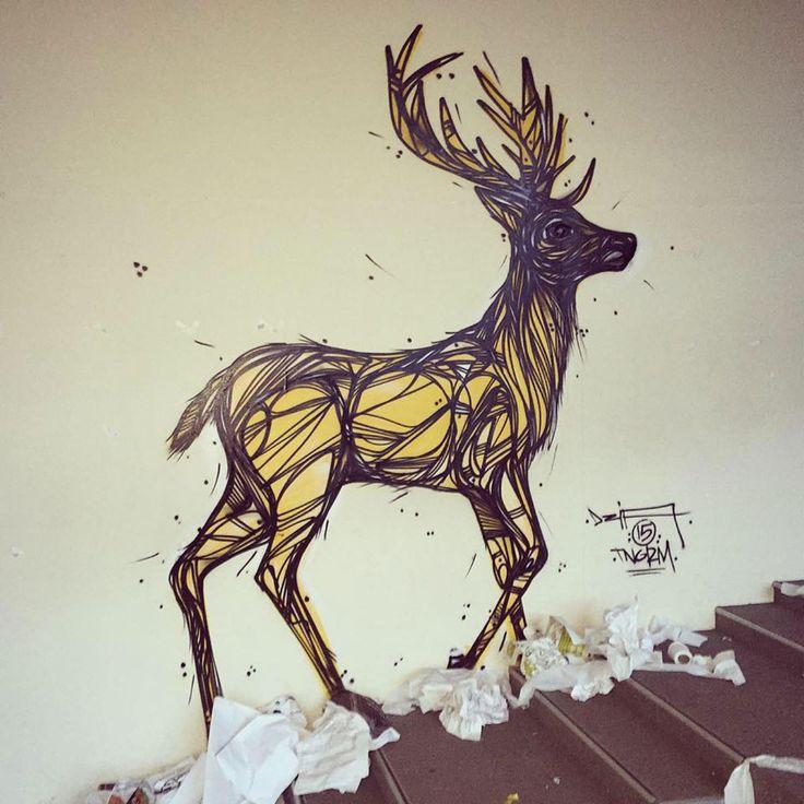 A la rédaction, on préférerait voir ce type de street art plus souvent dans nos villes. On espère que Dzia continuera de magnifier les rues.